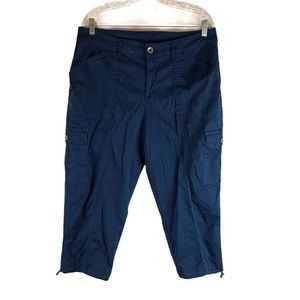 Time And Tru Plus Size Navy Cargo Pants